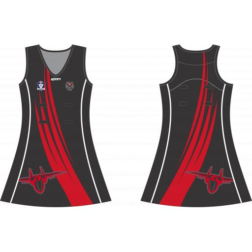 FRANKSTON BOMBERS FNC NETBALL DRESS