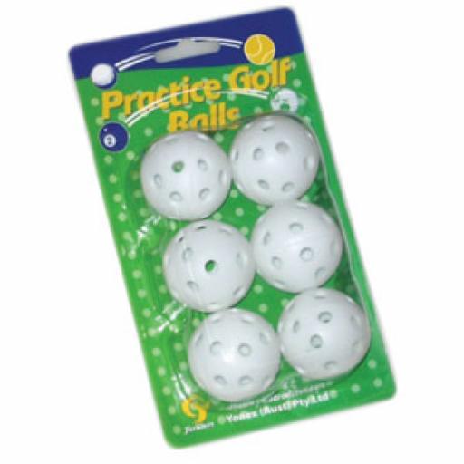 PLASTIC PRACTICE BALL