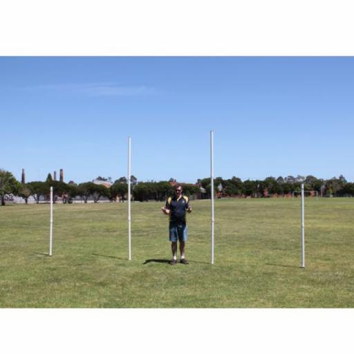 DELUXE AFL PORTABLE GOALS