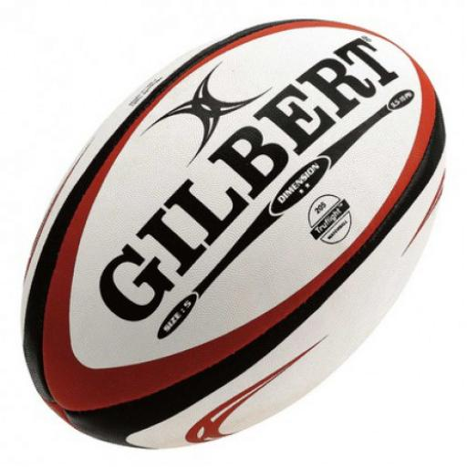 GILBERT DIMENSIONS SIZE 5 RUGBY BALL