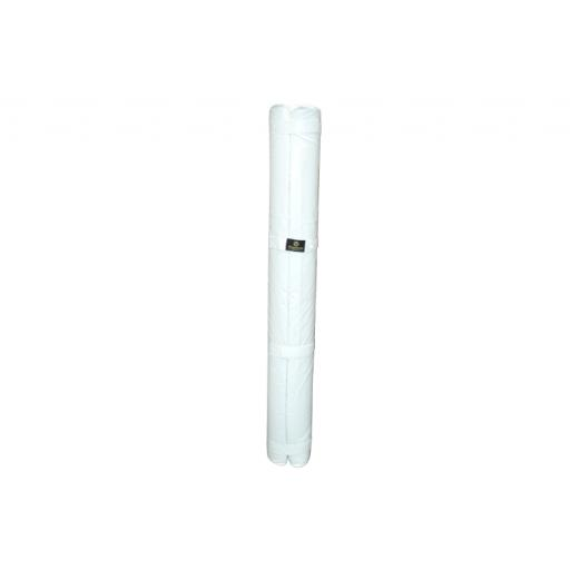 AUSSIE RULES GOAL POST GUARD CYLINDRICAL WHITE - 2500MM H