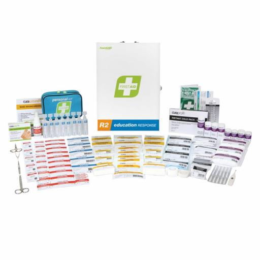 FIRST AID EDUCATION RESPONSE KIT CABINET PACK