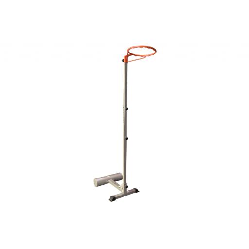 PORTBALE NETBALL STAND WITH 25KG WEIGHT