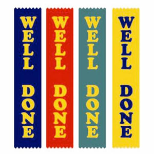 WELL DONE RIBBONS