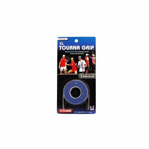 TENNIS GRIPS - TOURNA GRIP BLU