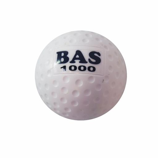 HOCKEY BALL 1000 DIMPLE - WHITE