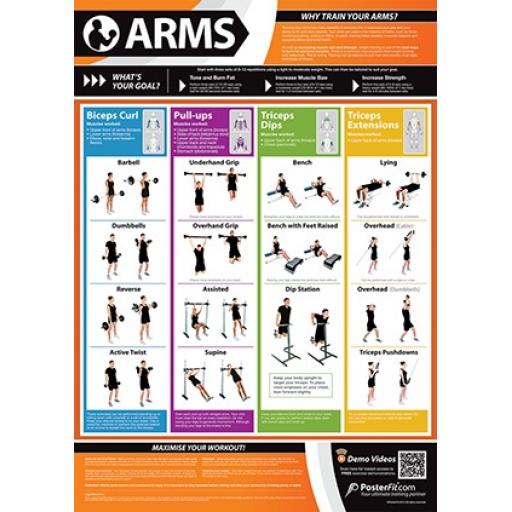 ARMS FITNESS CHARTS