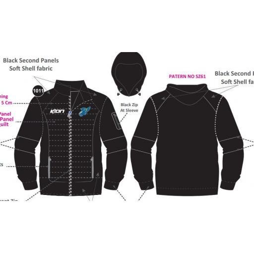 Glen Waverley Hawks FNC Subzero Jacket