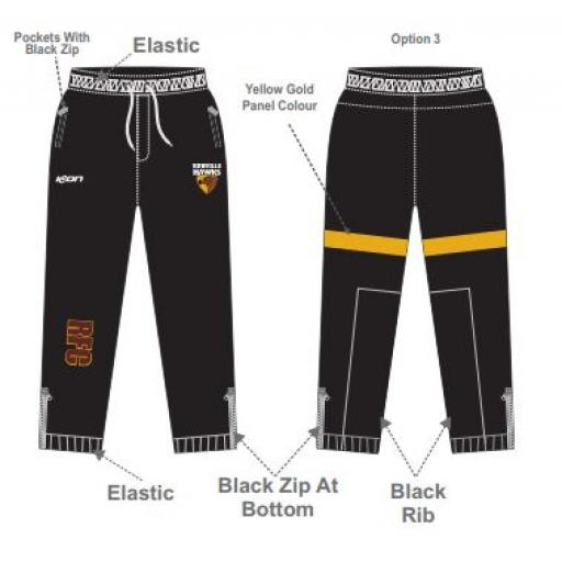 Rowville FNC Black pants