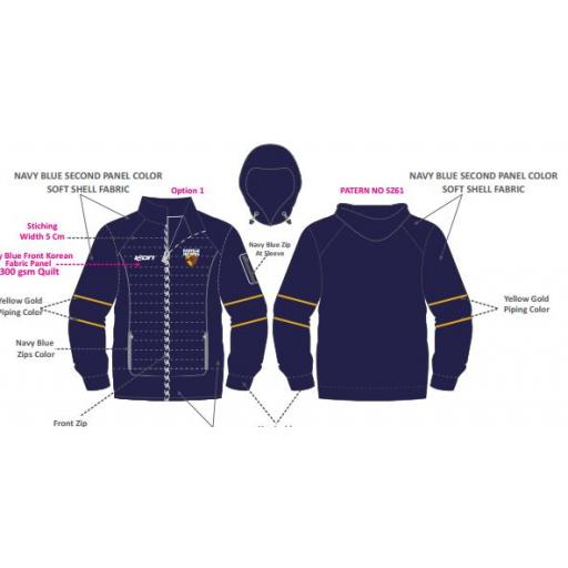 Rowville FNC Subzero jacket (RFN Thermal Outdoor Jacket)