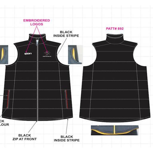 Hampton Park FNC Puffy Vest
