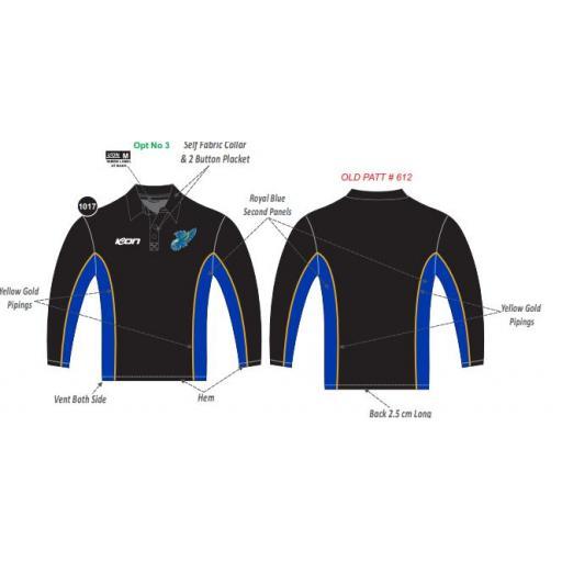Glen Waverley Hawks FNC Long Sleeve Polo
