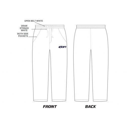 TOORAK PRAHRAN CC WHITE PANTS